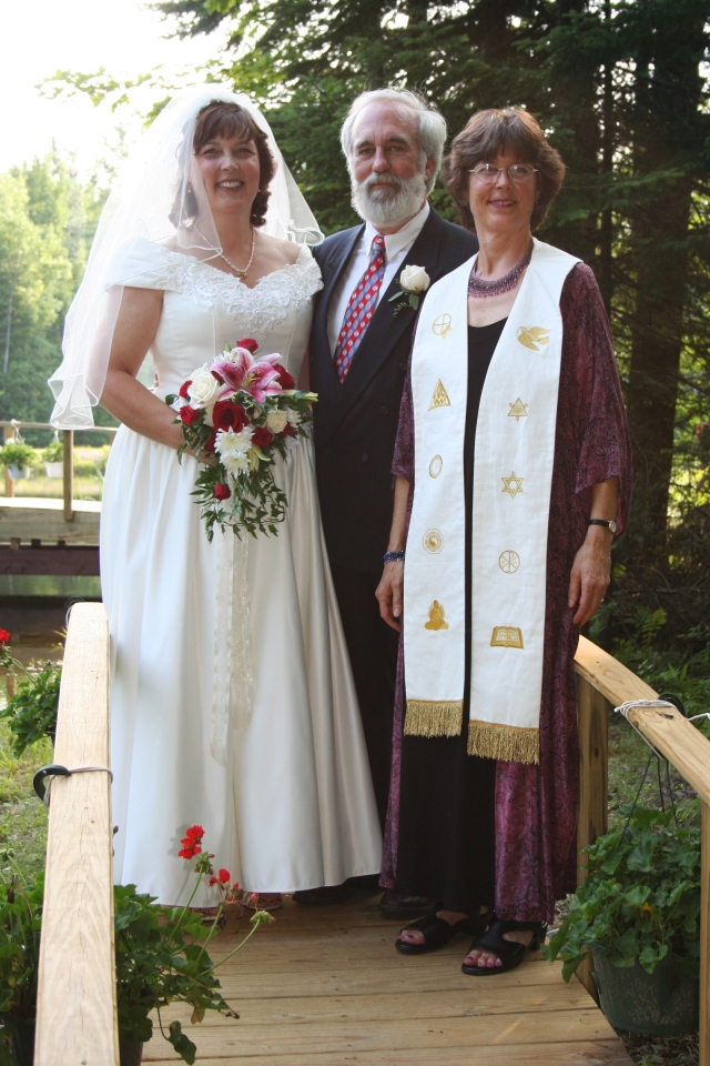 Ellise & Kevin Wedding - Rev Wendy Officiant