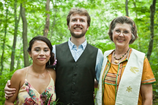 Emily & Clayton Wedding - Rev Wendy Officiant