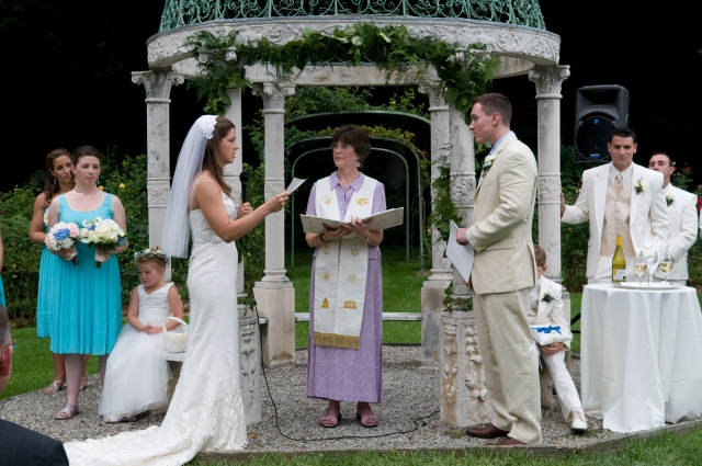 Kathryn & Adam Wedding - Rev Wendy Officiant